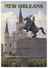 Postcard General Andrew Jackson Statue New Orleans LA