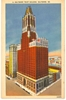 Linen Postcard Baltimore Trust Bldg, Maryland 1930s