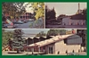 3 View Postcard Dreamers Lodge Motel Hotel John Day OR