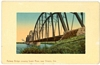Germany Made Colored Postcard of Railway River Bridge Ontario OR