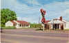Vintage Roadside America Postcard Rose Garden Motel Salem OR
