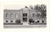 RPPC Real Postcard City Hall and Library 1938 Vale OR