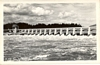 RPPC Postcard Bonneville Main Spillway Dam Columbia River WA & OR