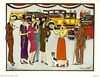 Anthony Gruerio Litho Print People at Roaring 20s Antique Car Show