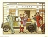 Anthony Gruerio Litho Print of People on Roaring 20s Buying Spree