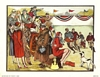 Anthony Gruerio Litho Print of Spectators at Football/Soccer Game